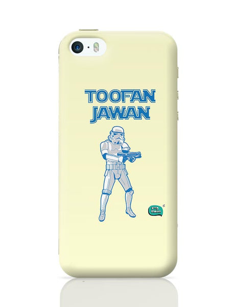 Toofan Jawan Funny Illustration iPhone 5/5S Covers Cases Online India