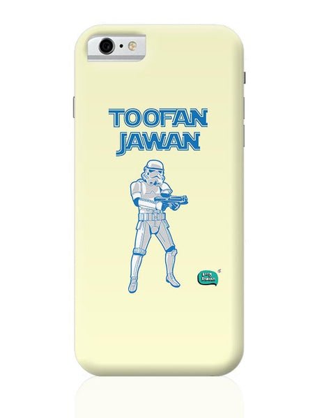 Toofan Jawan Funny Illustration iPhone 6 6S Covers Cases Online India