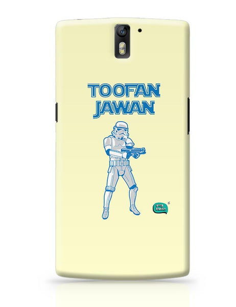 Toofan Jawan Funny Illustration OnePlus One Covers Cases Online India