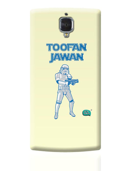 Toofan Jawan Funny Illustration OnePlus 3 Covers Cases Online India