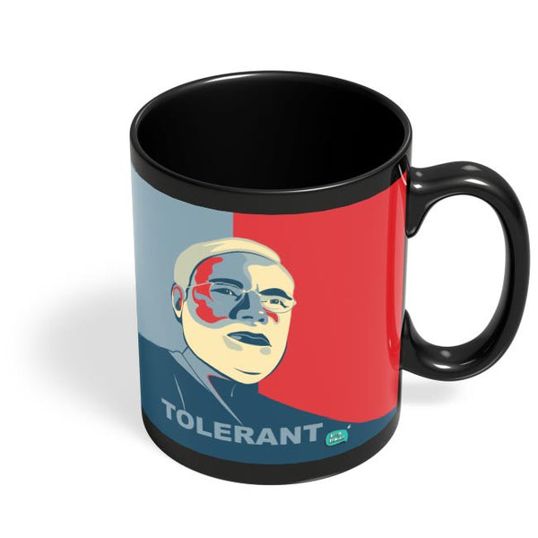 Tolerant | Narendra Modi Ray Of Hope Black Coffee Mug Online India