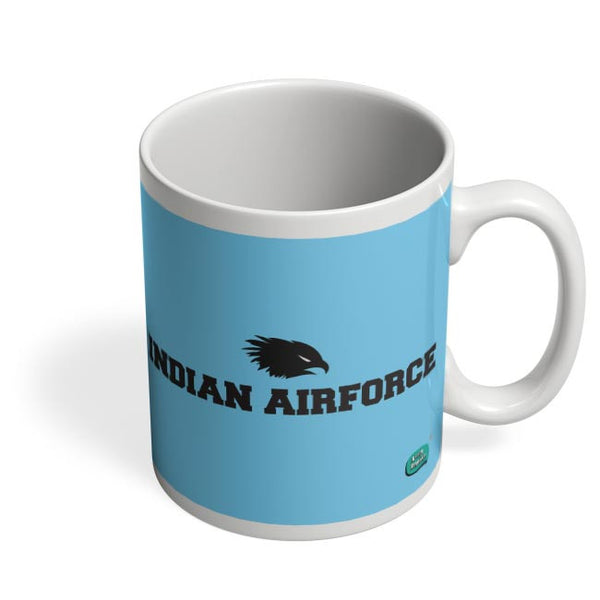 Indian Air Force Typographic Illustration Coffee Mug Online India