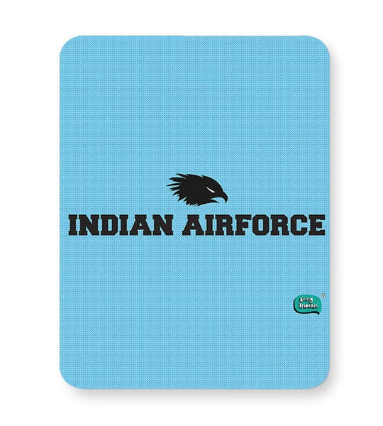 Indian Air Force Typographic Illustration Mousepad Online India