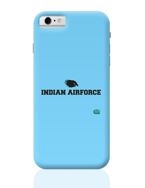 Indian Air Force Typographic Illustration iPhone 6 6S Covers Cases Online India