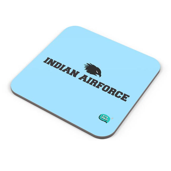 Indian Air Force Typographic Illustration Coaster Online India