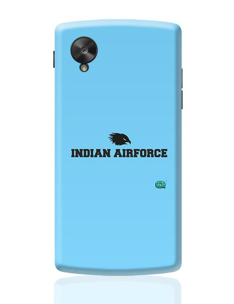 Indian Air Force Typographic Illustration Google Nexus 5 Covers Cases Online India