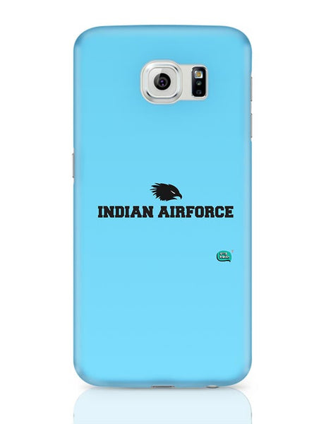 Indian Air Force Typographic Illustration Samsung Galaxy S6 Covers Cases Online India