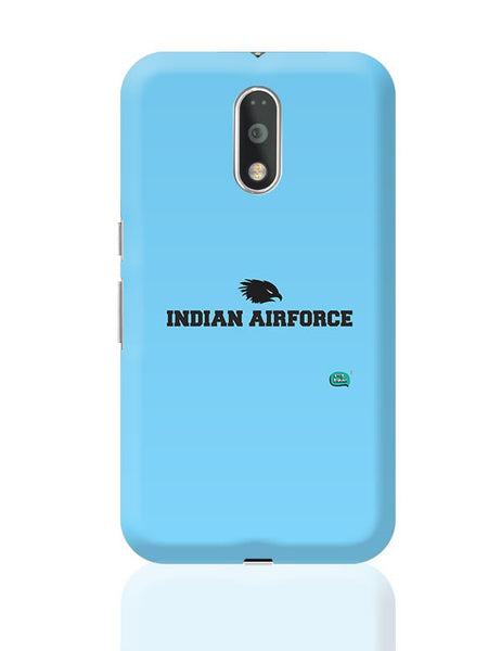 Indian Air Force Typographic Illustration Moto G4 Plus Online India