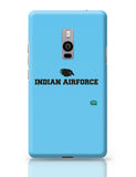 Indian Air Force Typographic Illustration Oneplus Two Covers Cases
