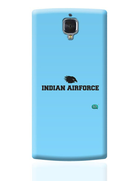 Indian Air Force Typographic Illustration OnePlus 3 Covers Cases Online India