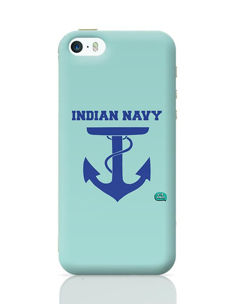 Indian Navy Symbol Minimalist Illustration iPhone 5/5S Covers Cases Online India