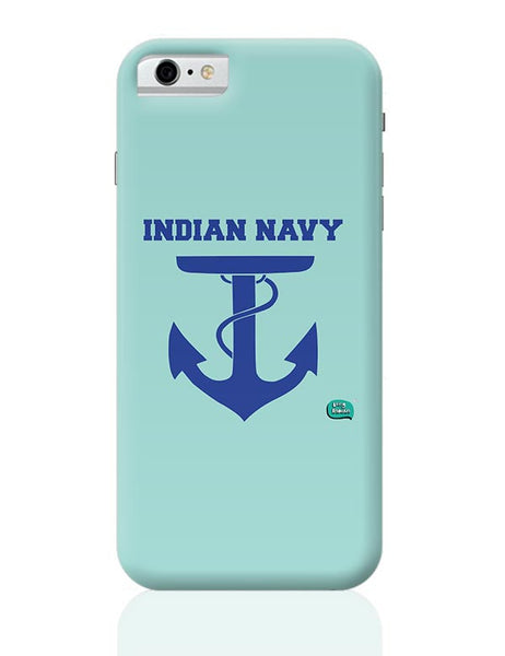 Indian Navy Symbol Minimalist Illustration iPhone 6 6S Covers Cases Online India