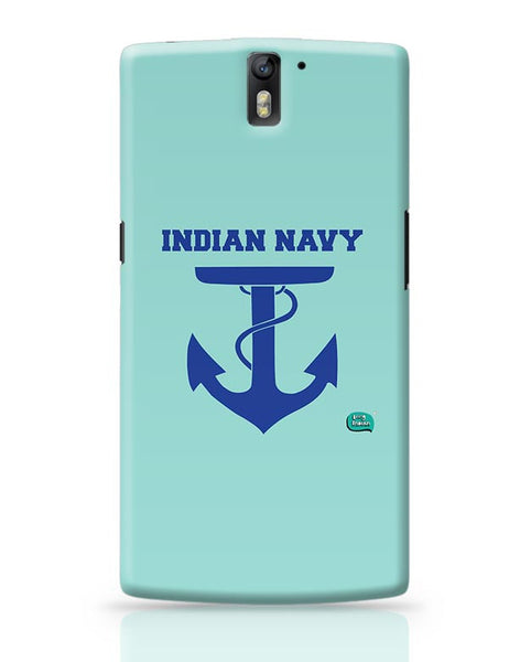 Indian Navy Symbol Minimalist Illustration OnePlus One Covers Cases Online India