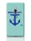 Indian Navy Symbol Minimalist Illustration Oneplus Two Covers Cases
