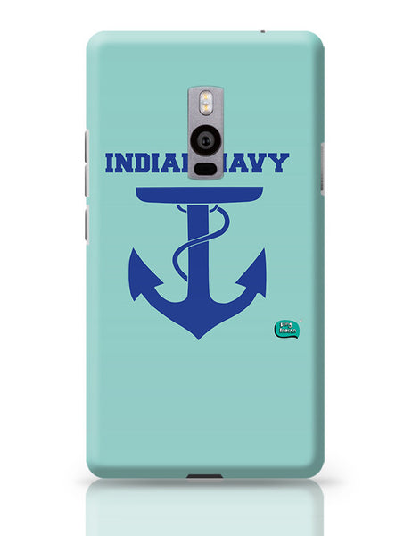 Indian Navy Symbol Minimalist Illustration OnePlus Two Covers Cases Online India