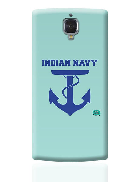 Indian Navy Symbol Minimalist Illustration OnePlus 3 Covers Cases Online India