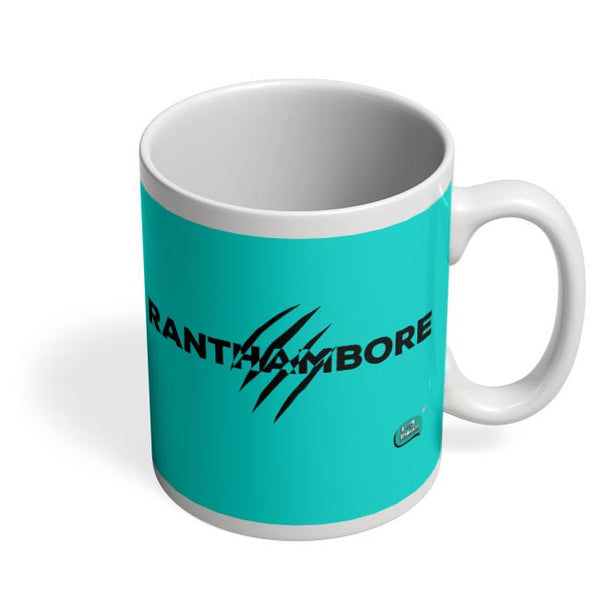 Rathambore Typographic Illustration Coffee Mug Online India