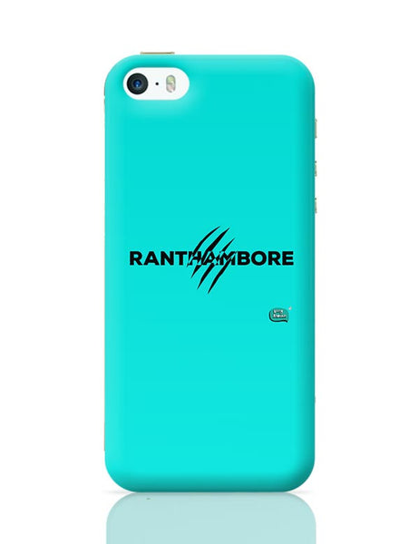 Rathambore Typographic Illustration iPhone 5/5S Covers Cases Online India