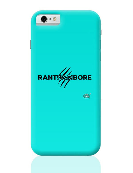 Rathambore Typographic Illustration iPhone 6 6S Covers Cases Online India