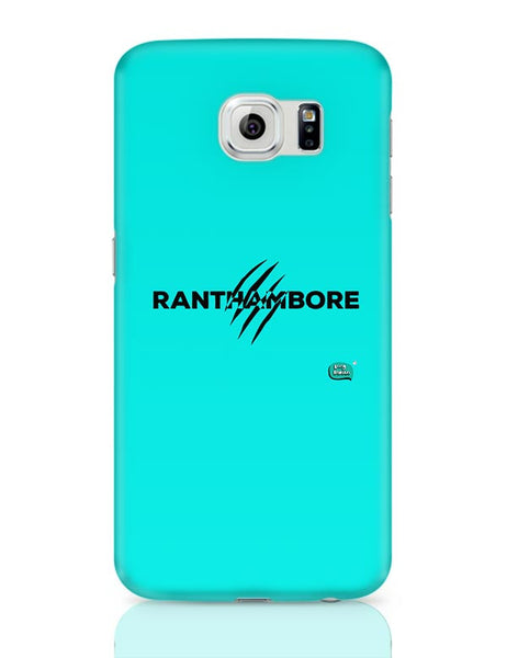 Rathambore Typographic Illustration Samsung Galaxy S6 Covers Cases Online India