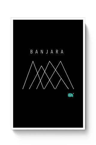 Banjara Minimalist Illustration Poster Online India