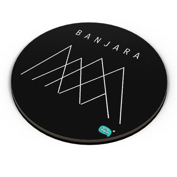 Banjara Minimalist Illustration Fridge Magnet Online India