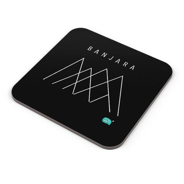 Banjara Minimalist Illustration Coaster Online India