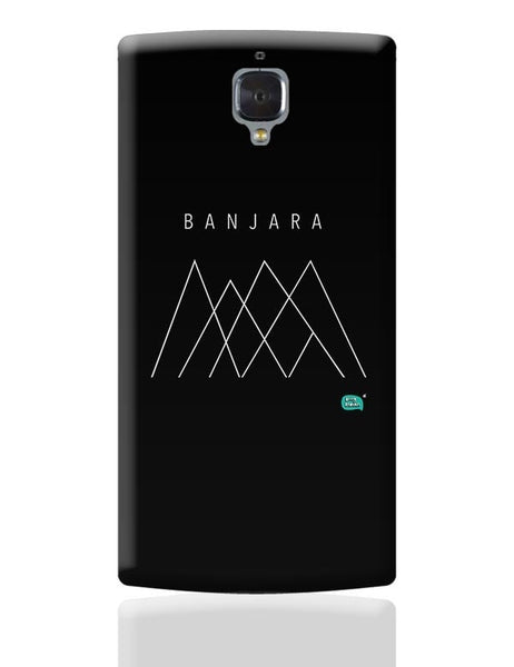 Banjara Minimalist Illustration OnePlus 3 Covers Cases Online India
