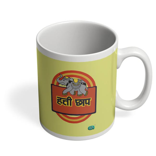 Hathi Chaap Funny  Coffee Mug Online India