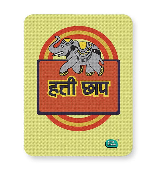 Hathi Chaap Funny  Mousepad Online India