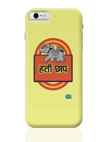 Hathi Chaap Funny  iPhone 6 6S Covers Cases Online India