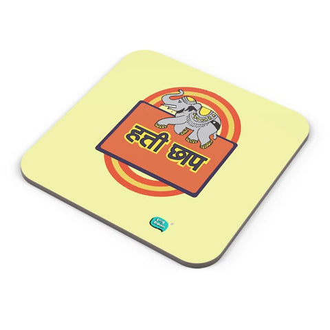 Hathi Chaap Funny  Coaster Online India