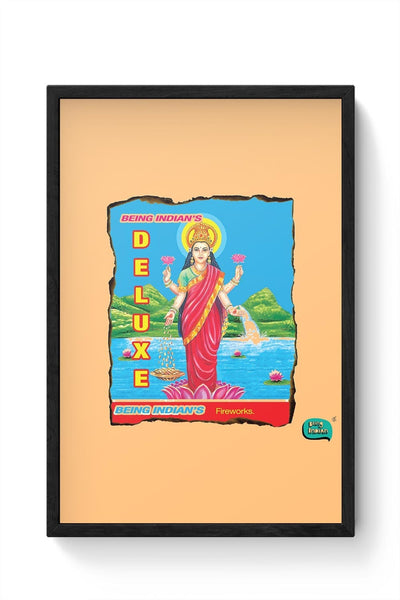 Being Indian'S Fireworks Deluxe Framed Poster Online India
