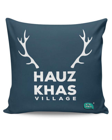 Hauz Khas Village Funny Minimalist Cushion Cover Online India