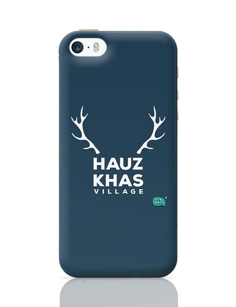 Hauz Khas Village Funny Minimalist iPhone 5/5S Covers Cases Online India