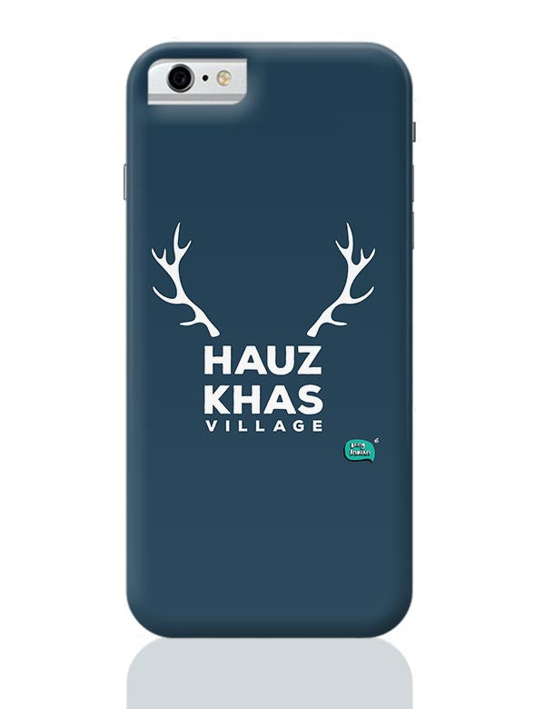Hauz Khas Village Funny Minimalist IPhone 6 / 6S Covers Cases