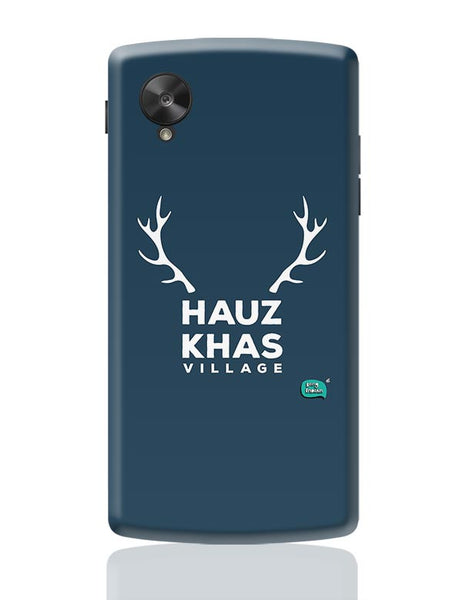 Hauz Khas Village Funny Minimalist Google Nexus 5 Covers Cases Online India
