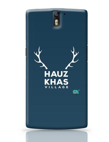 Hauz Khas Village Funny Minimalist OnePlus One Covers Cases Online India