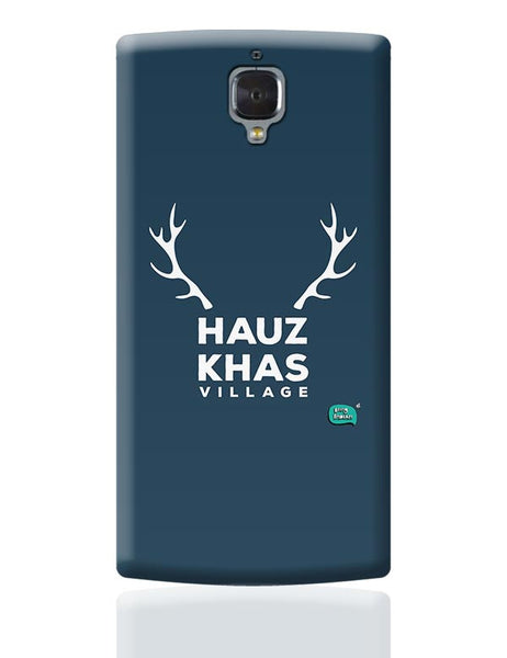 Hauz Khas Village Funny Minimalist OnePlus 3 Covers Cases Online India