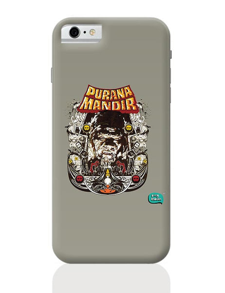 Purana Mandir Illustration iPhone 6 / 6S Covers Cases
