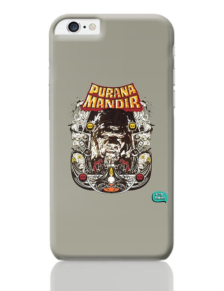 Purana Mandir Illustration iPhone 6 Plus / 6S Plus Covers Cases Online India