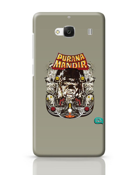 Purana Mandir Illustration Redmi 2 / Redmi 2 Prime Covers Cases Online India