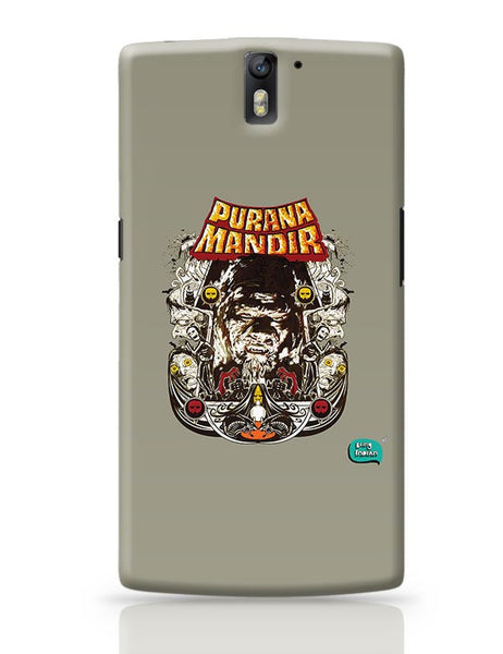 Purana Mandir Illustration OnePlus One Covers Cases Online India
