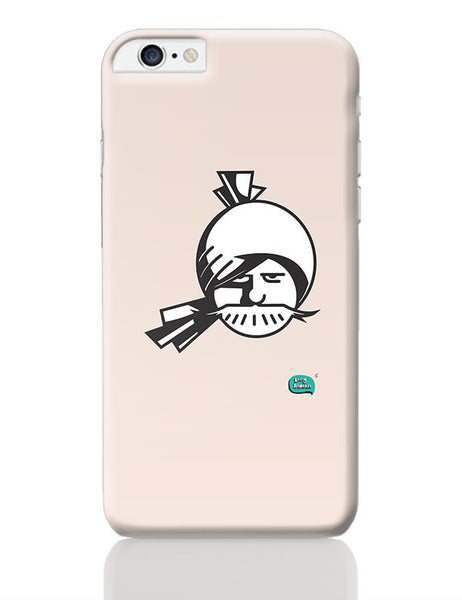Indian Man Minimalist Illustration  iPhone 6 Plus / 6S Plus Covers Cases Online India