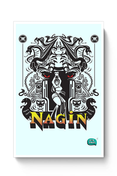 Buy Nagin Line Art Illustration Poster