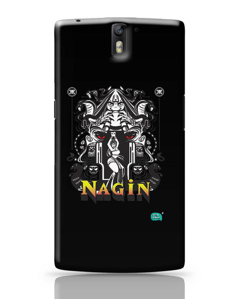 Nagin Line Art Illustration OnePlus One Covers Cases Online India