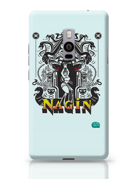 Nagin Line Art Illustration OnePlus Two Covers Cases Online India