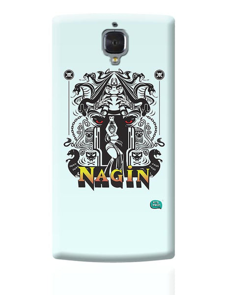Nagin Line Art Illustration OnePlus 3 Covers Cases Online India