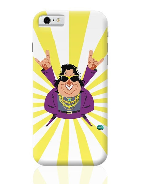 Bappi Lahiri Rocking Disco Pop Art Illustration iPhone 6 / 6S Covers Cases