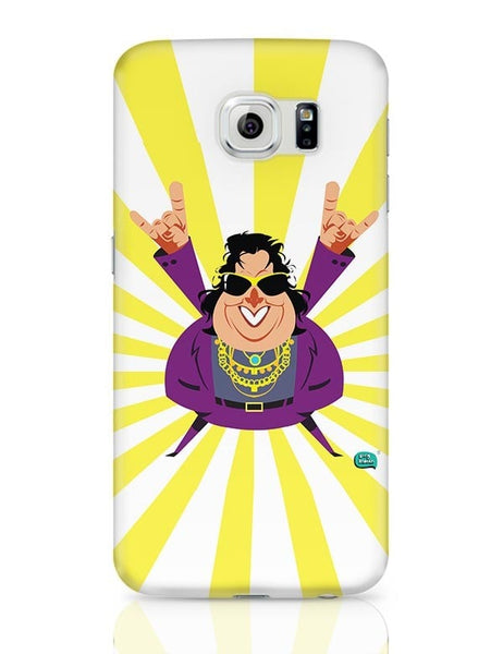 Bappi Lahiri Rocking Disco Pop Art Illustration Samsung Galaxy S6 Covers Cases Online India